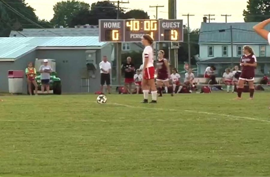 Senior takes on her final year of soccer