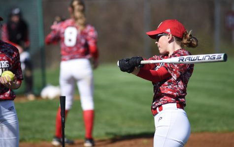 Lexi Gerner gets ready for softball season