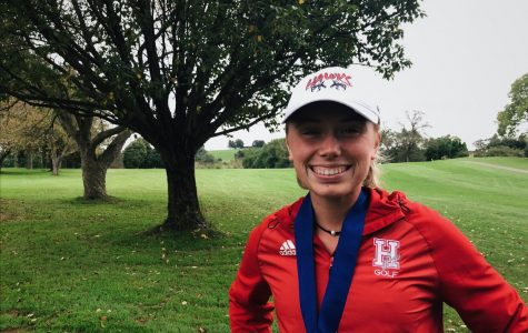 Alyson Rentschler prepares for Alvernia golf