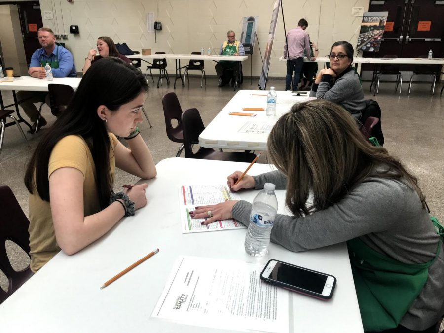 Financial Reality Fair for Seniors at Hamburg Area High School